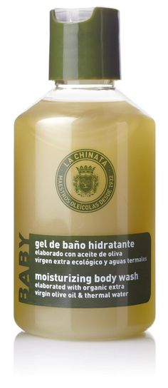 La Chinata Organic Olive Oil Babies Body Liquid Soap. Achieve a smooth skin with this gel enriched with extracts of Witch-hazel, Daisy and White Rose. This baby Bath Gel is based on the best Organic Extra Virgin Olive Oil and enriched with natural active ingredients like Thermal Water. We have added extracts from plants, to leave a smooth skin. Apply to moist skin and massage. Rinse and repeat if necessary. €7.95