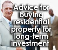 Advice for buying residential property for long-term investment | IGrow Wealth Investments