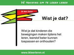 Uit de training: Ik leer leren. Meer info neem ook eens een kijkje op www.pvccm.nl