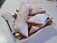 Le #chiacchiere di #SalDeRiso #originali #ricettetraamiche Frappe, Pancake, Biscotti, Nutella, Italian Recipes, Cookies, Fruit, Sweet, Desserts