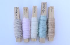 Baby colour scheme ideas using Stylecraft Yarn's Special DK collection - Parchment, Soft Peach, Cream, Duck Egg and Stone. Post from This Little Space of Mine