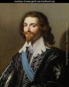 Portrait of George Villiers 1st Duke of Buckingham - Gerrit Van Honthorst - www.gerrit-van-honthorst.org