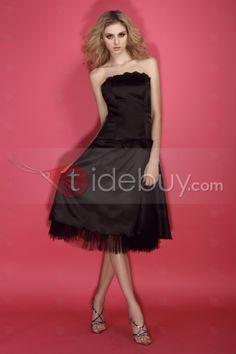 Classic A-Line Tea-Length Strapless Bowknot Dasha's Homecoming Dress Homecoming Dresses 2014, Prom Dresses, Formal Dresses, Tea Length, Strapless Dress Formal, Shopping, Classic Dresses, Style, Cocktail