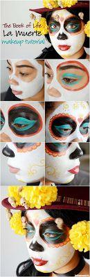 archigeaLab: Halloween 2015:Día de Muertos make up