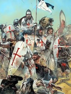 Medieval, Fantasy Story, Knights Templar, Military History, Middle Ages, Art History, Battle, Armies, Crusaders