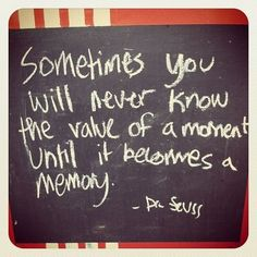 Dr. Seuss - a moment