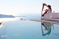From a #wedding in #Santorini by Antonis Elefhterakis