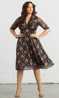 Plus Size Mademoiselle Lace Dress