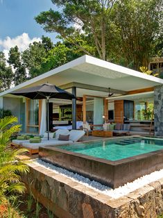 Haritha Villas Spa Sri Lanka: The Top 50 Luxury Hotel Openings of 2019 Tyni House, Rest House, Backyard Pool Designs, Swimming Pools Backyard, Dream House Exterior, Dream House Plans, Hotel Pool, Tropical Houses, Tropical House Design