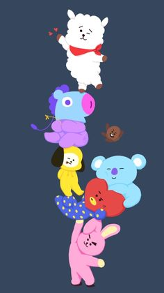 Milena's art — BT21 cuties