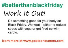 Black Friday Tip: Get Your Fitness On