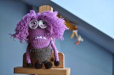 Patron Minion Amigurumi : Minions en crochet. mis amigurumi pinterest amigurumi patterns