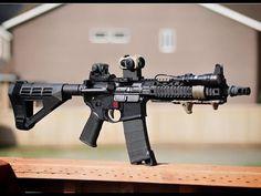 Weapons Guns, Airsoft Guns, Guns And Ammo, Ar Pistol Build, Ar Build, Gun Vault, M4 Carbine, Ar 15 Builds, Battle Rifle