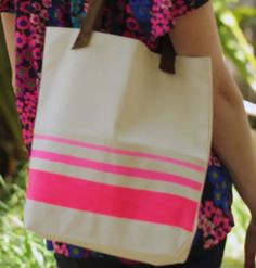Give a personal touch to the average summer tote http://www.youtube.com/watch?v=WIUbo_qkXP4