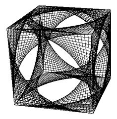 string art in cube - Google Search
