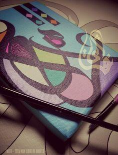 Entre deux tableaux, une envie détente, une envie de couleurs... Work in progress... #yaChabab
