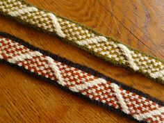 Posts about inkle written by Skogsduva Inkle Weaving, Inkle Loom, Tablet Weaving Patterns, Good Tutorials, Viking Age, New Hobbies, Fascinator, Of My Life, Vikings