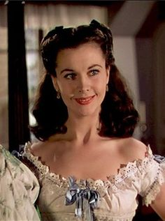 """Vivien Leigh as Scarlett O'Hara in """"Gone WIth The WInd"""" (1939) Best Actress Oscar 1939"""