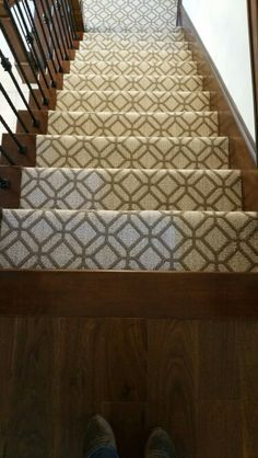 Lower Level Stairs And Lounge Tuftex Style: Casablanca Color: Fresh Citrus  Carpet