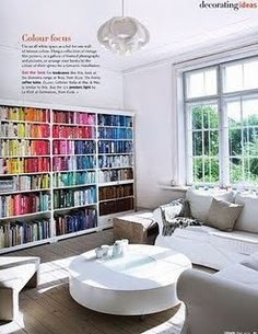 color coded library