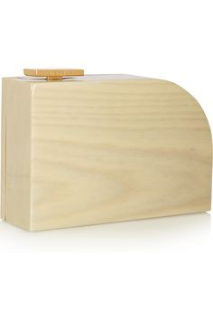 Lanvin|Glossed and painted wood piano clutch|NET-A-PORTER.COM