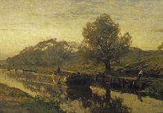 Willem Bastiaan Tholen - Het kanaal bij de Witte Brug 1894