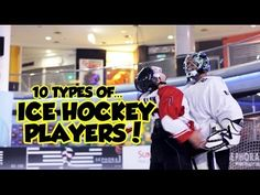 A humorous look at the 10 types of ice hockey players.