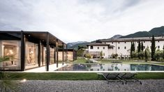 Italian studio Network of Architecture (NOA) worked closely with the Trento Office of Cultural Heritage to transform half of the 17th-century complex in Arco, near Lake Garda, into the Monastero Arx Vivendi hotel. Hotel Architecture, Amazing Architecture, Ribbed Vault, Roof Beam, Spa Rooms, High Walls, Ground Floor Plan, Lake Garda, Hotel Interiors
