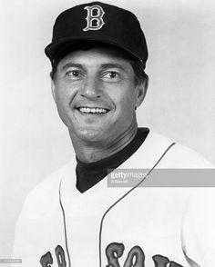 Carl Yastrzemski #8 of the Boston Red Sox poses for a portrait circa 1980 at Fenway Park in Boston, Massachusetts.