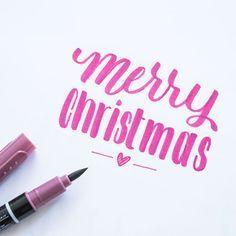 Handlettering Weihnachten Grusse Schriftarten Vorlagen Und