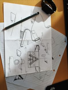 The idea  and sketching