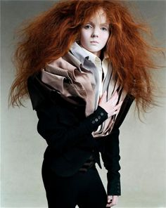 Lily Cole / Photographed / Steven Meisel / For Vogue Italia July 2003..I believe it is Viktor & Rolf