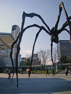 1st time with Maman at Roppongi Hills, Tokyo, Japan
