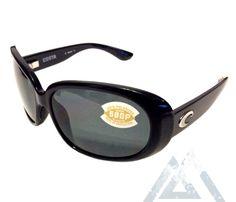 2d176cff8407 Costa Del Mar Hammock Sunglasses – Black Frame – Polarized Gray 580P Lens