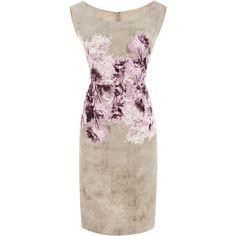 Giambattista Valli :: Floral-Print Crepe Dress