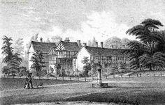 Deyne Hall, Lancashire, residence of the Rectors of Prestwich
