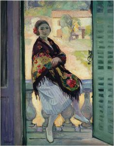 Henri Lebasque (France,1865-1937) On the Balcony