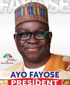 Gov.Fayose Declares For 2019 Presidential Election Tomorrow http://ift.tt/2hxkPoQ