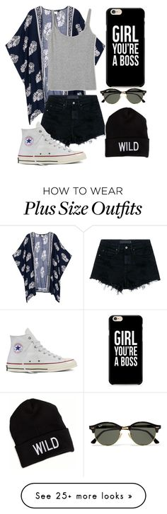 """""""Untitled #721"""" by mriss-abbrie on Polyvore featuring Alexander Wang, Converse, Ray-Ban and American Eagle Outfitters"""