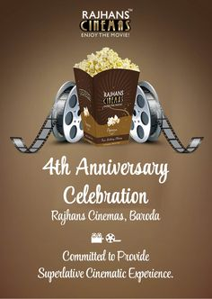 Rajhans Cinemas Baroda Celebrating 4th Anniversary!