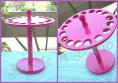 Espositore cerchietti mini rosa (1)
