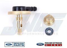 genuine ford 7 3l idi diesel fuel filter housing sediment drain f250 f350 |  ebay tow