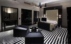 #Decorar suelos con rayas - Desplazamiento #suelo_rayas #stripe_floors