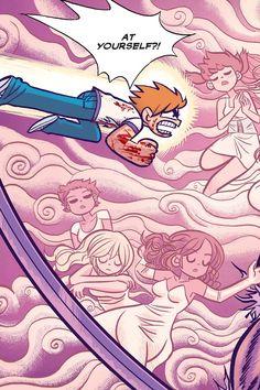 Scott Pilgrim Vol. 6 (of In His Finest Hour Glee Quotes, Scandal Quotes, Scandal Abc, Scott Pilgrim Comic, Bryan Lee O Malley, Arrow Tv Shows, Comic Art, Comic Books, Ramona Flowers