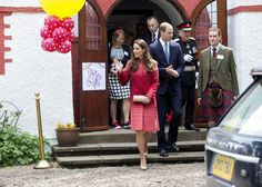The Duke and Duchess of Cambridge (known in Scotland as The Earl and Countess of Strathearn) visit Strathearn Community Campus, incorporatin...