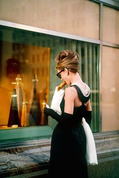 The ultimate in window shopping . . . Breakfast at Tiffany's