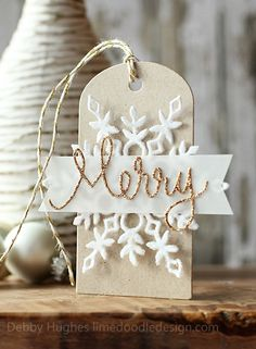 Homemade ornaments {idea by two peas in a bucket}