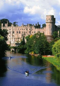 England's Warwick Castle entertains young and old with everything from armor to old masters. Its gardens were laid out in the 1700s by the renowned designer Capability Brown.