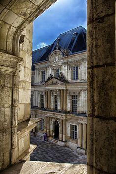 château de Blois, Centre