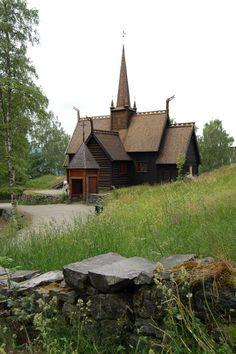 Garmo Stavkirke, Maihaugen Museum, Lillehammer